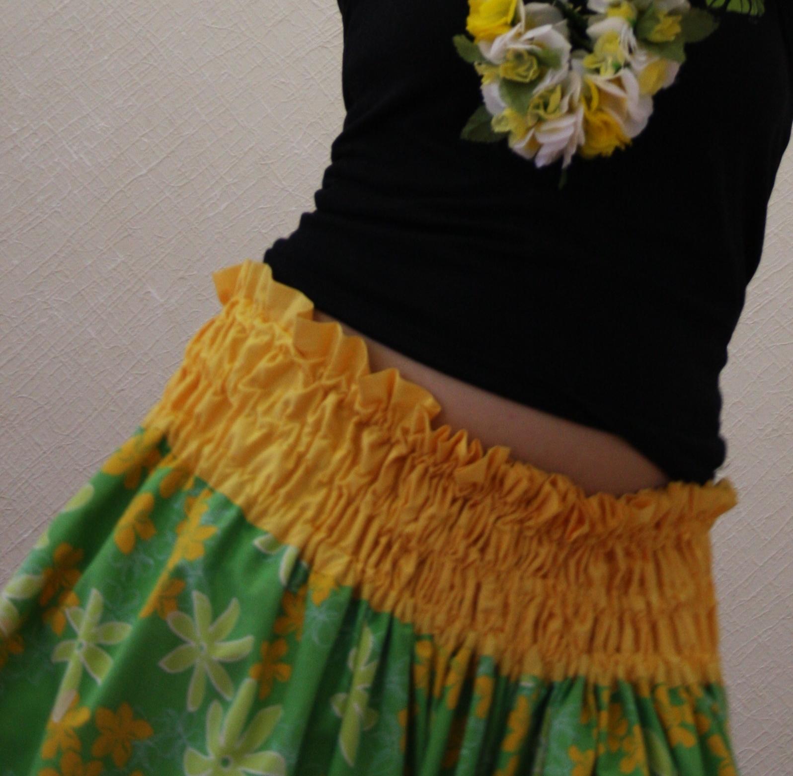Как сшить костюм для гавайского танца